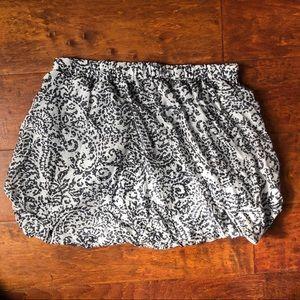 JCREW mini bubble skirt